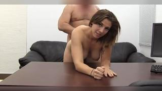 Fit Gamer Babe Anal Casting