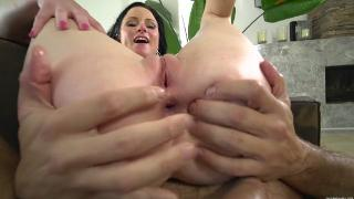 Butt pounding for anal babe Veruca James