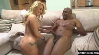 A.j. Applegate has always fantasized about being stretched out by a big black