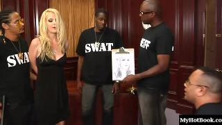 Anita Blue is a lovely blonde, who matches the description of a felon