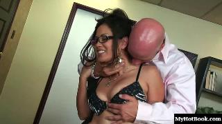 Jessica Bangkok is an Asian beauty who walks into an office, asking for